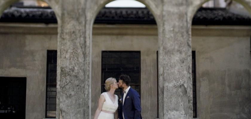 Hochzeit in Italien - mit freier Trauung auf der Wiese und Feier in der Villa Giona