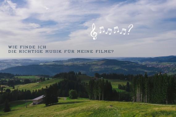 Wie finde ich die richtige Musik für meine Filme?
