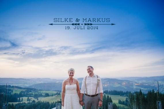 Hochzeit im Allgäu - Silke und Markus
