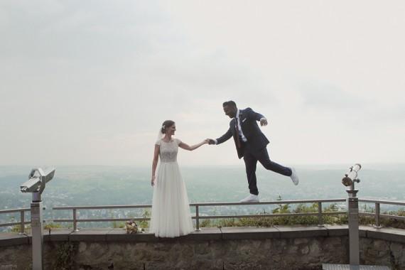 Pannen mit Google Maps, Doppel-Regenbogen und eine tamilisch-deutsche Hochzeit auf dem Drachenfels